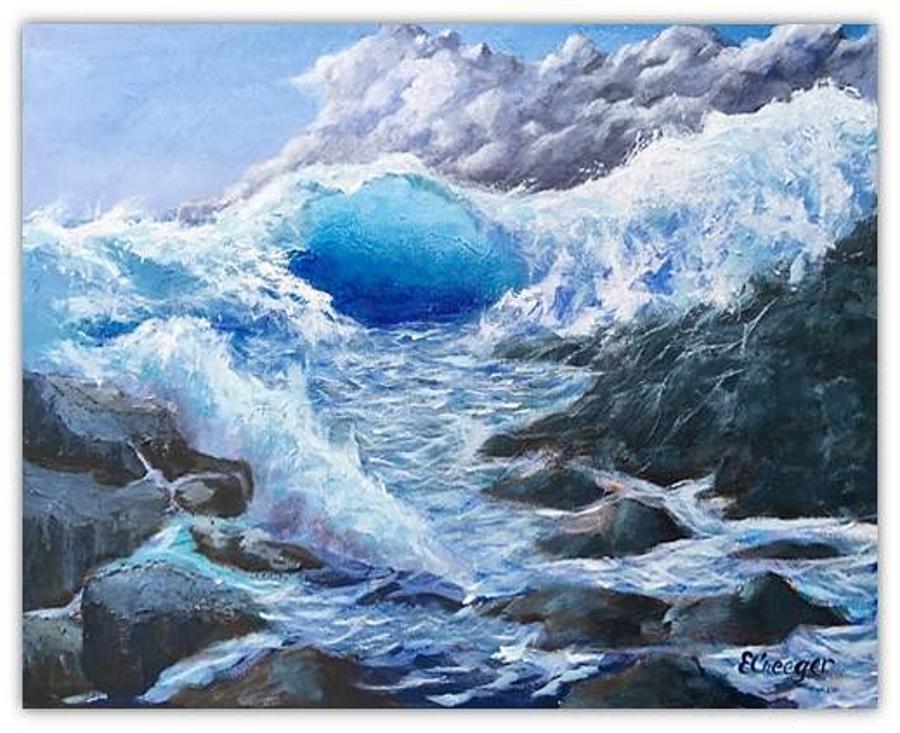 Blue Storm by Esperanza Creeger