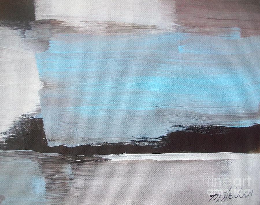 Blue Painting - Blue Streak by Marsha Heiken