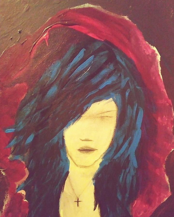 Blue Painting by Tamie Atkinson