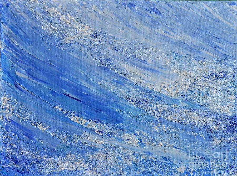 Blue Painting - Blue by Teresa Wegrzyn