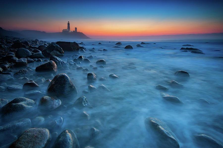 Montauk Photograph - Blue Tide by Rick Berk