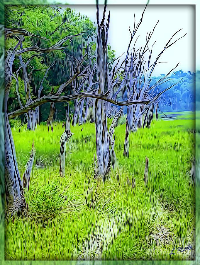 Blue Trees by Leslie Revels