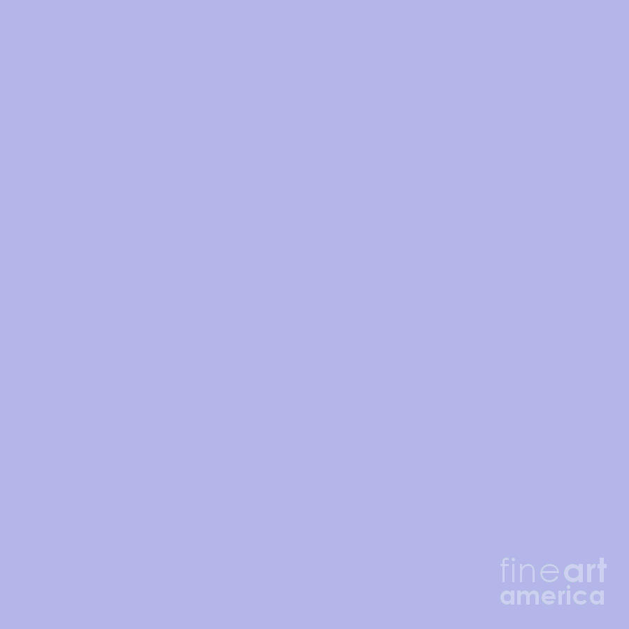 Blue Ultra Soft Lavender Colour Palette Photograph by Sharon Mau