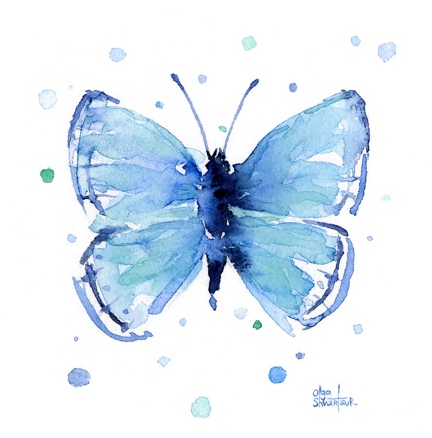 Butterfly Canvas Painting Ideas