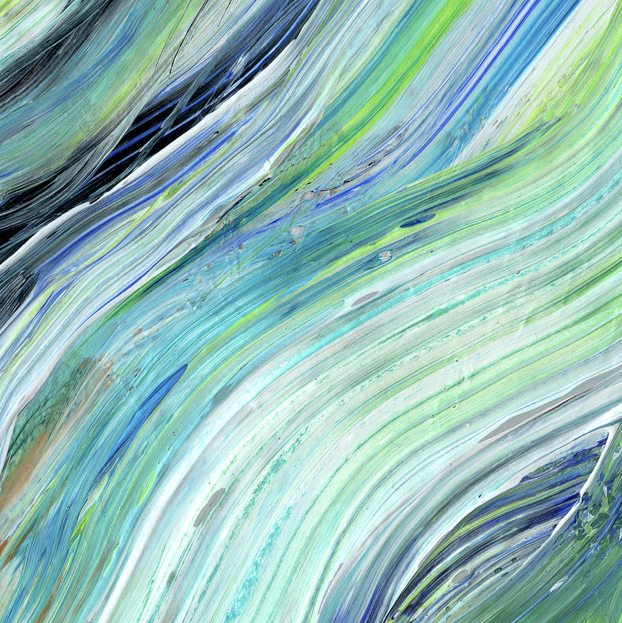 Prime Blue Wave Abstract Art For Interior Decor V Download Free Architecture Designs Embacsunscenecom