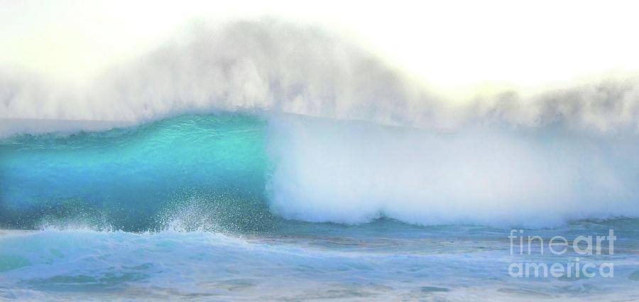 Blue Wave Photograph