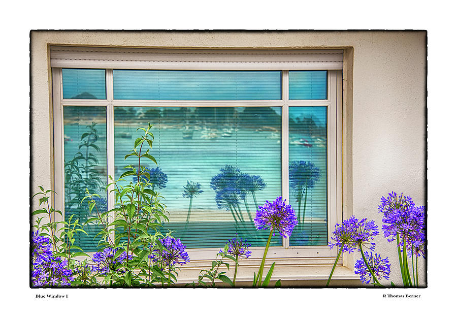 Blue Window I by R Thomas Berner