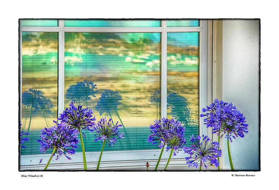 Blue Window II by R Thomas Berner