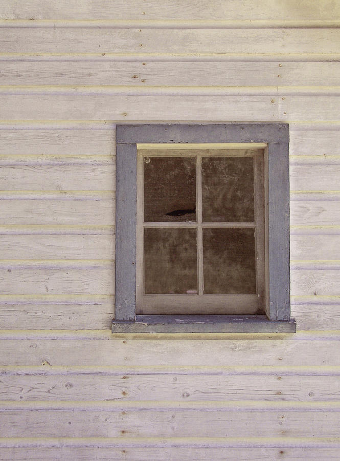 Window Photograph - Blue Window by JAMART Photography
