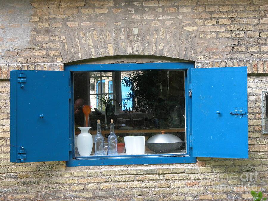 Blue Window by Jim Goodman