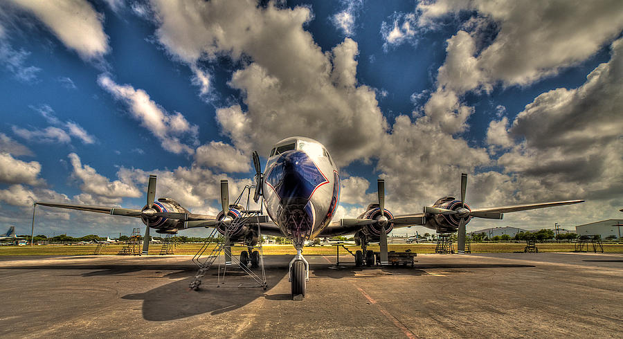 Aircraft Photograph - Blue Yonder by William Wetmore