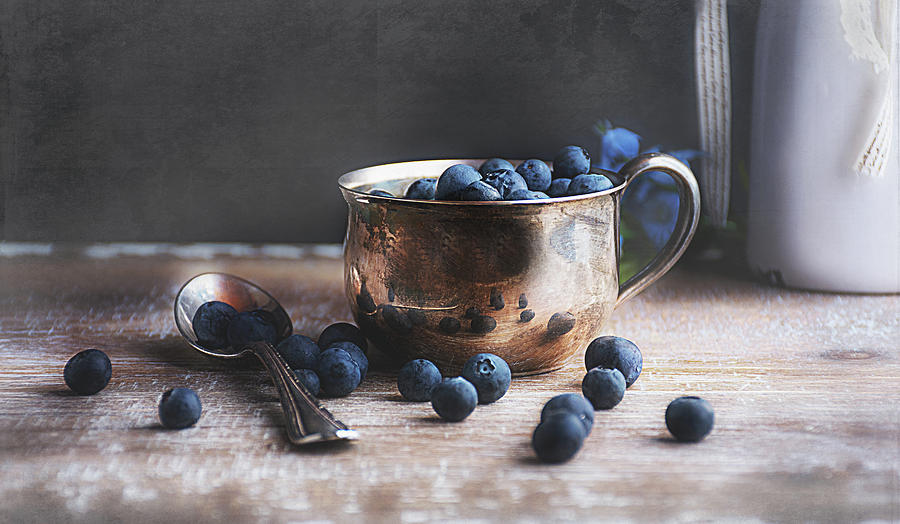 Blueberries by Norma Warden
