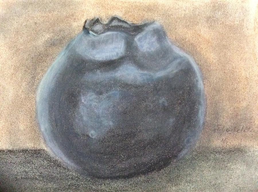 Beauty Painting - Blueberry by Fladelita Messerli-