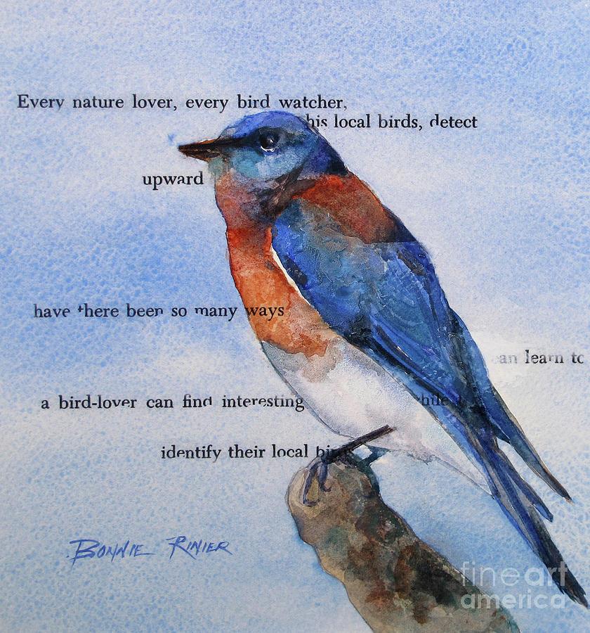Bluebird by BONNIE RINIER