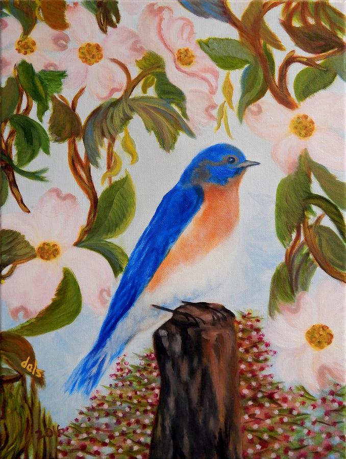 Bluebird of Spring by Douglas Ann Slusher