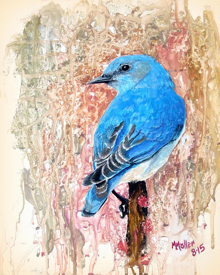 Bluebird on Sumac by Marcus Moller