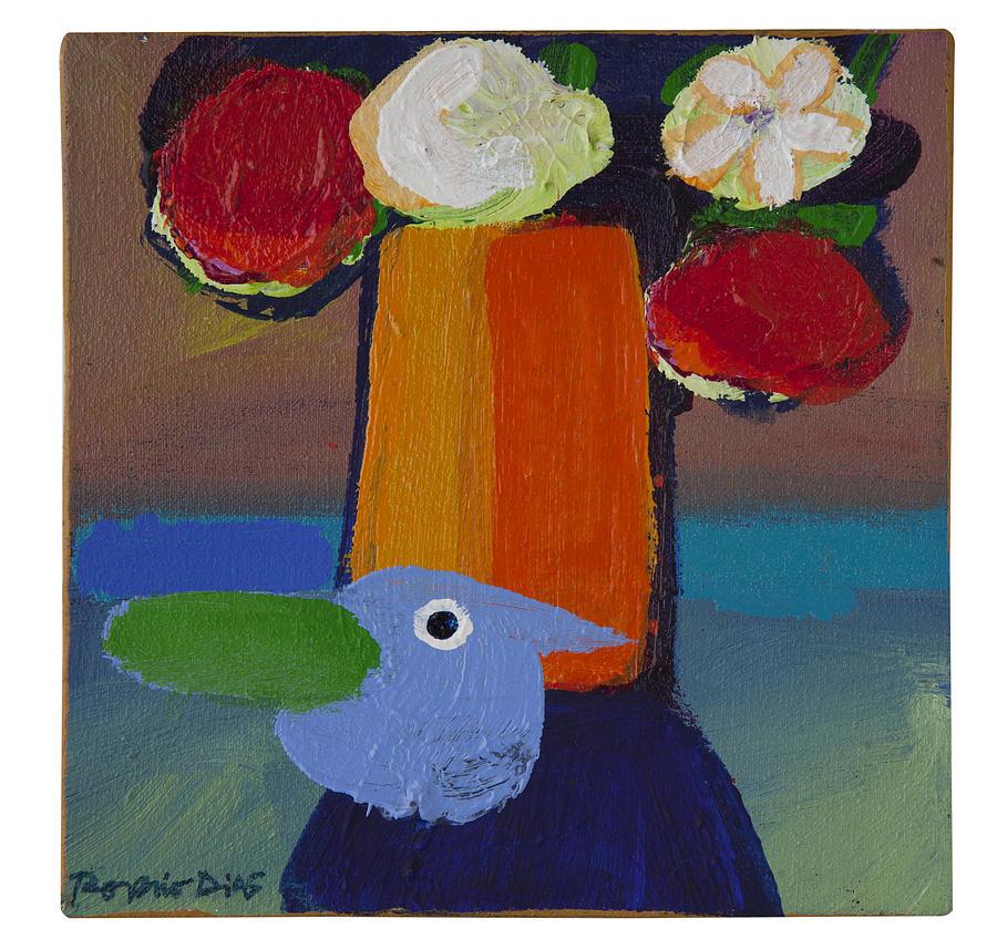 Bluebird Painting - Bluebird by Rogerio Dias