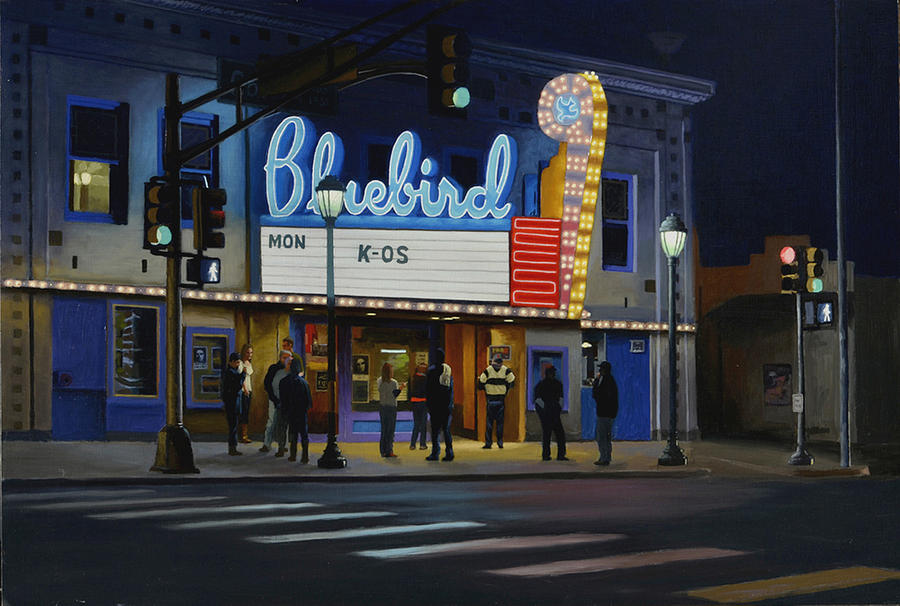 Bluebird Theater No. 2 by Murad Sayen