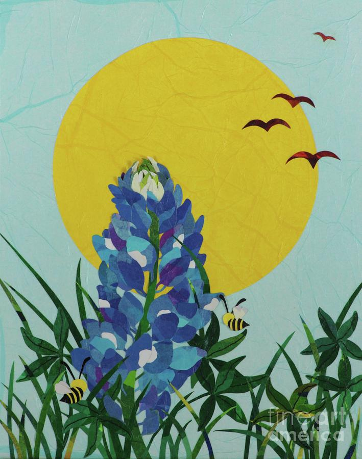 Blues Bees by Diane Miller