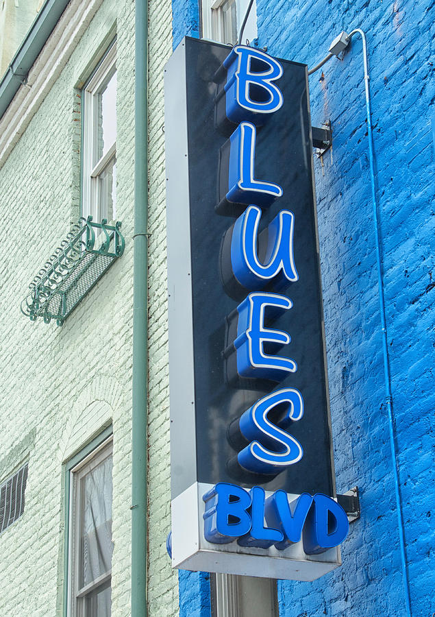 Blues Photograph - Blues Blvd by Blaine Owens Photography