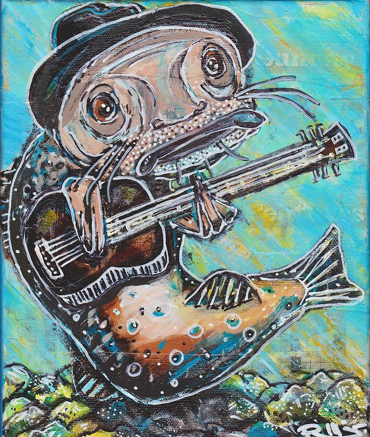 Blues Cat Revisited by Robert Wolverton Jr