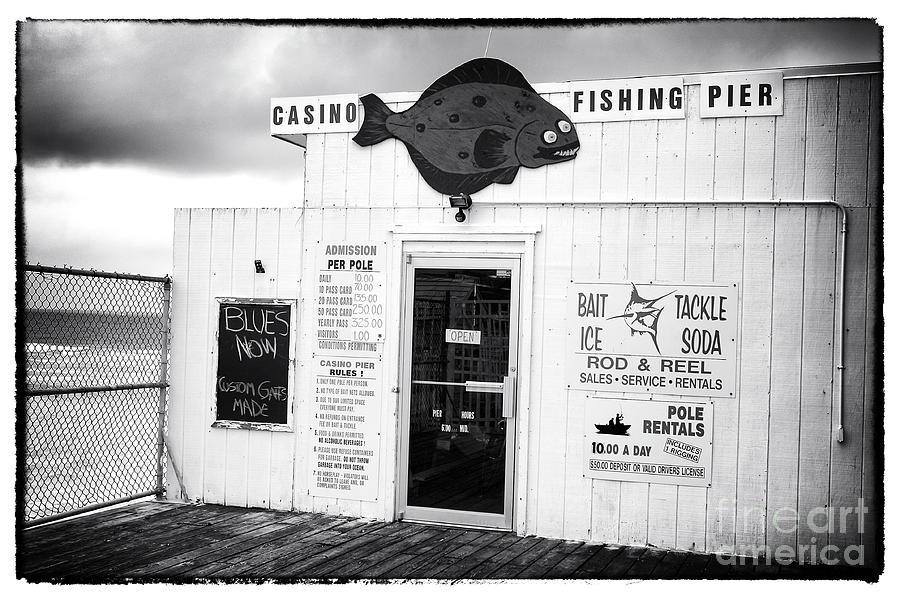 Fishing Pier Photograph - Blues Now by John Rizzuto