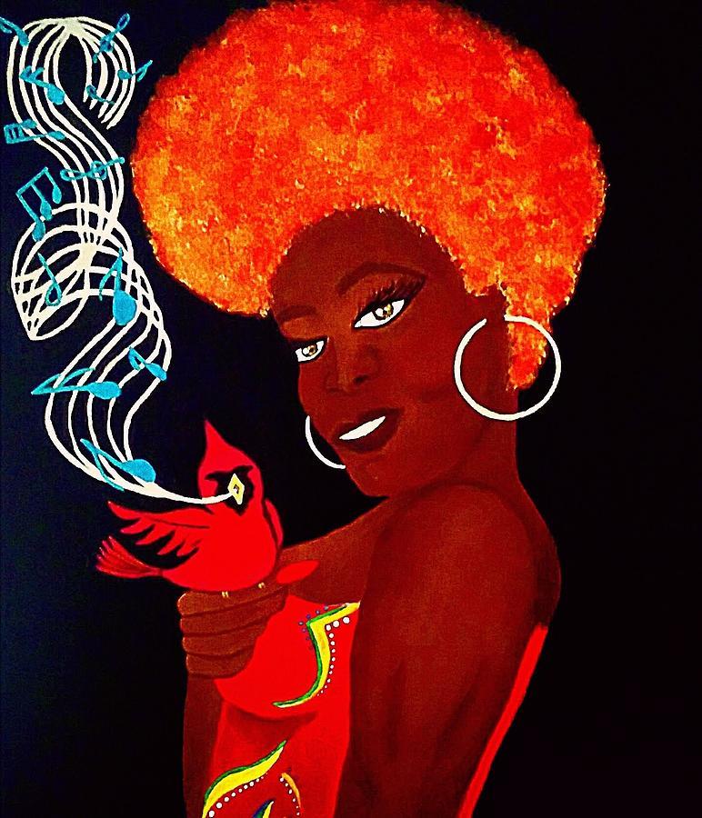 Blues Singer by Kim Raine Johnson