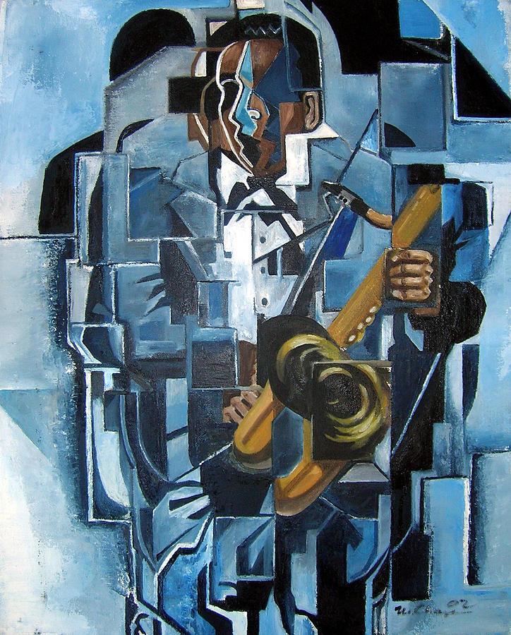 Blues Trane Painting by Martel Chapman