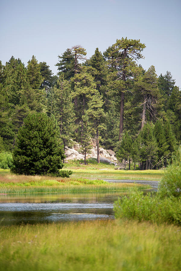 Landscape Photograph - Bluff Lake Ca 13 by Chris Brannen