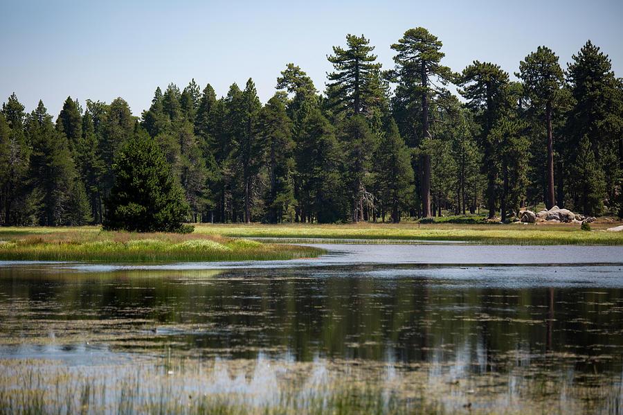 Landscape Photograph - Bluff Lake Ca 6 by Chris Brannen