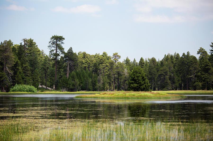 Landscape Photograph - Bluff Lake Ca Island 4 by Chris Brannen