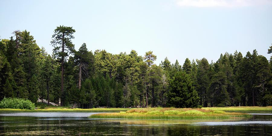 Landscape Photograph - Bluff Lake Ca Island 5 by Chris Brannen
