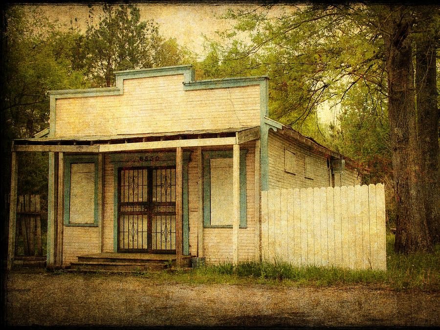 Old Store Photograph - Bluff Ridge Store by Phillip Burrow