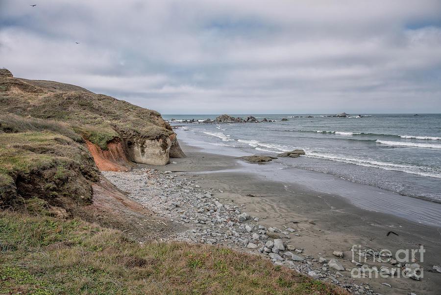 Bluffs At Kellog Beach Photograph