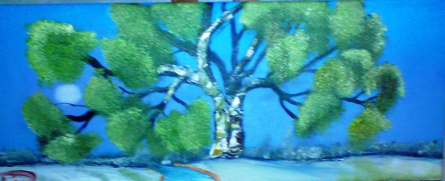 Blum Of Winter Painting by Reginald Pierre