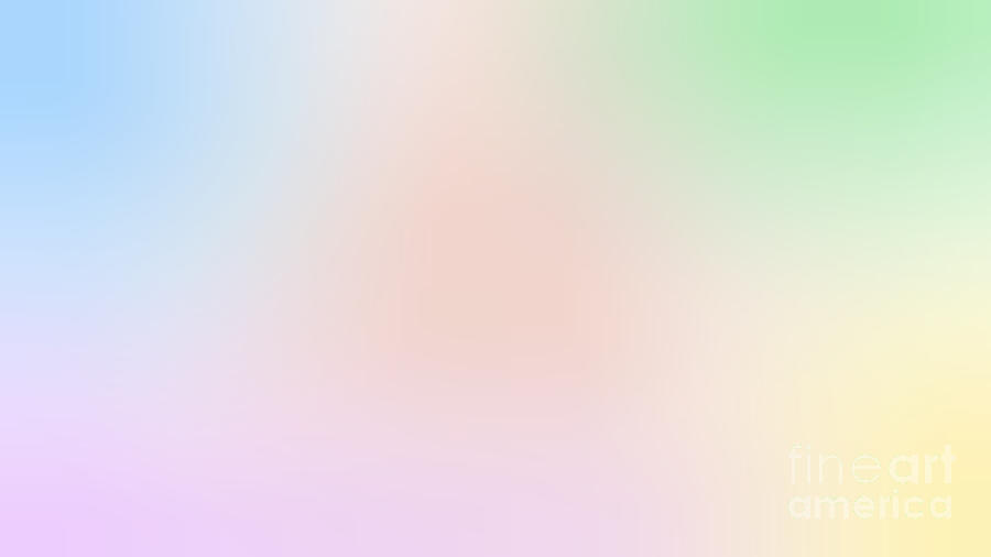 Blurred Pastel Background Photograph By Ferenc Kosa