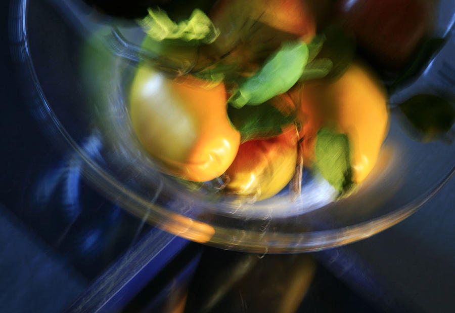 Still Life Photograph - Blurred Pears by David Watkins Jr