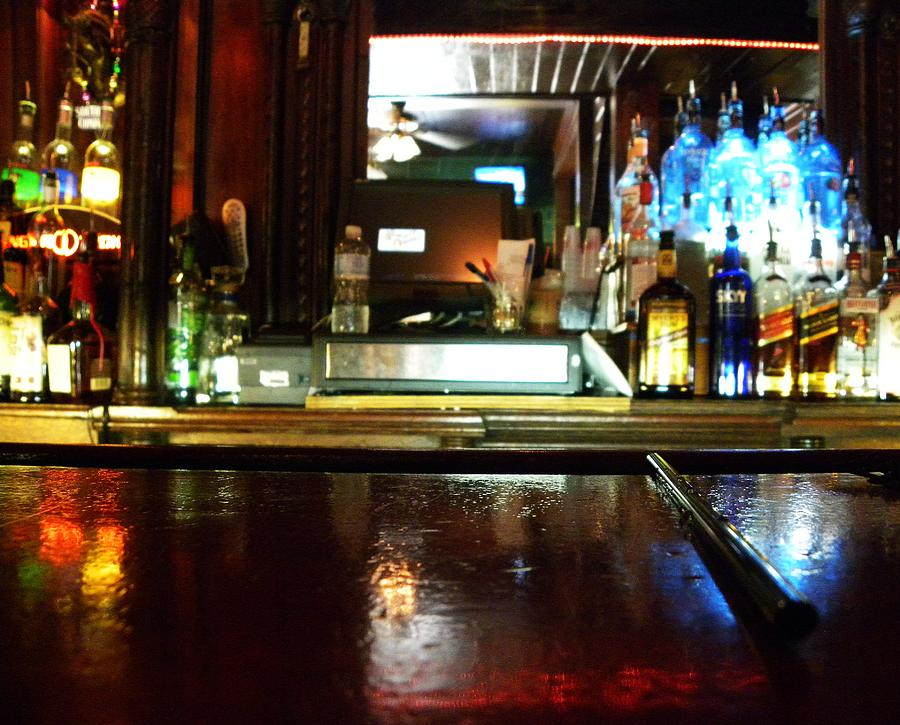 Bar Photograph - Blurred Vision by Kim Zwick