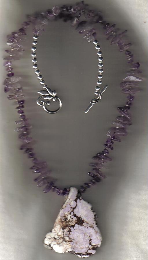 Native American Jewelry - Blushing Wild Horse Magnesite by White Buffalo