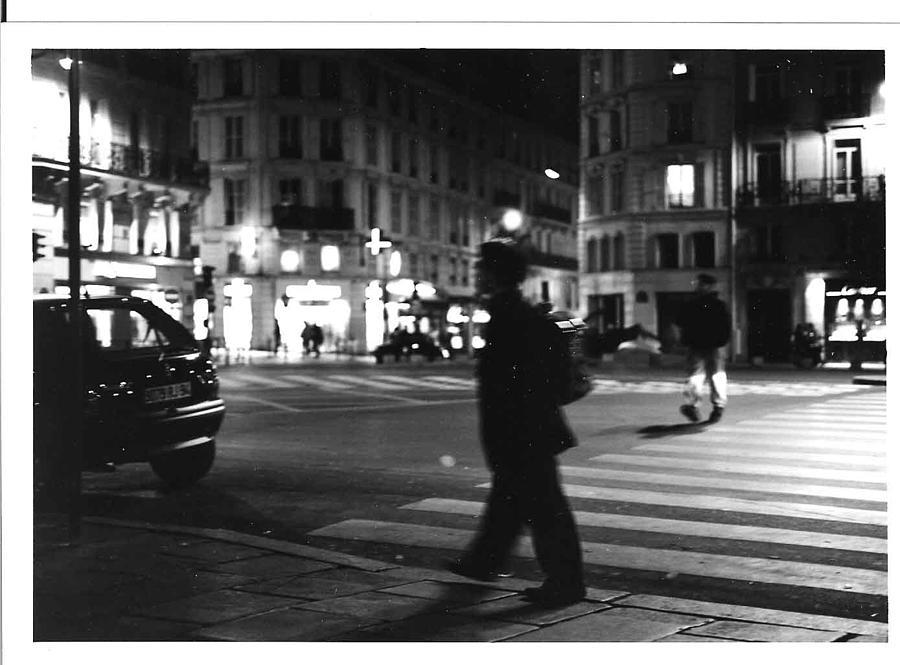 Cityscape Photograph - Blvd St Germain Paris At Night by Gordon Lukesh