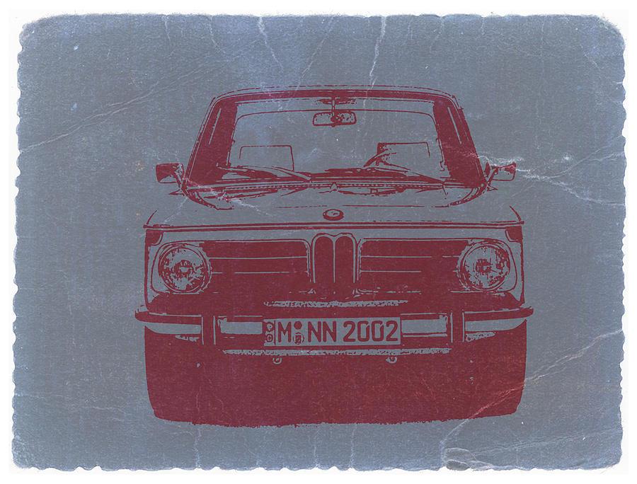 Bmw 2002 Photograph - Bmw 2002 by Naxart Studio