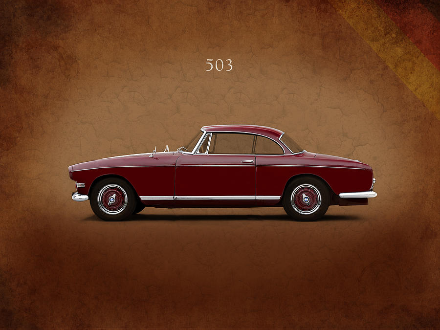 Bmw 503 Coupe 1956 Photograph By Mark Rogan