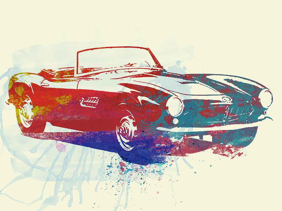 Bmw 507 Photograph - Bmw 507 by Naxart Studio