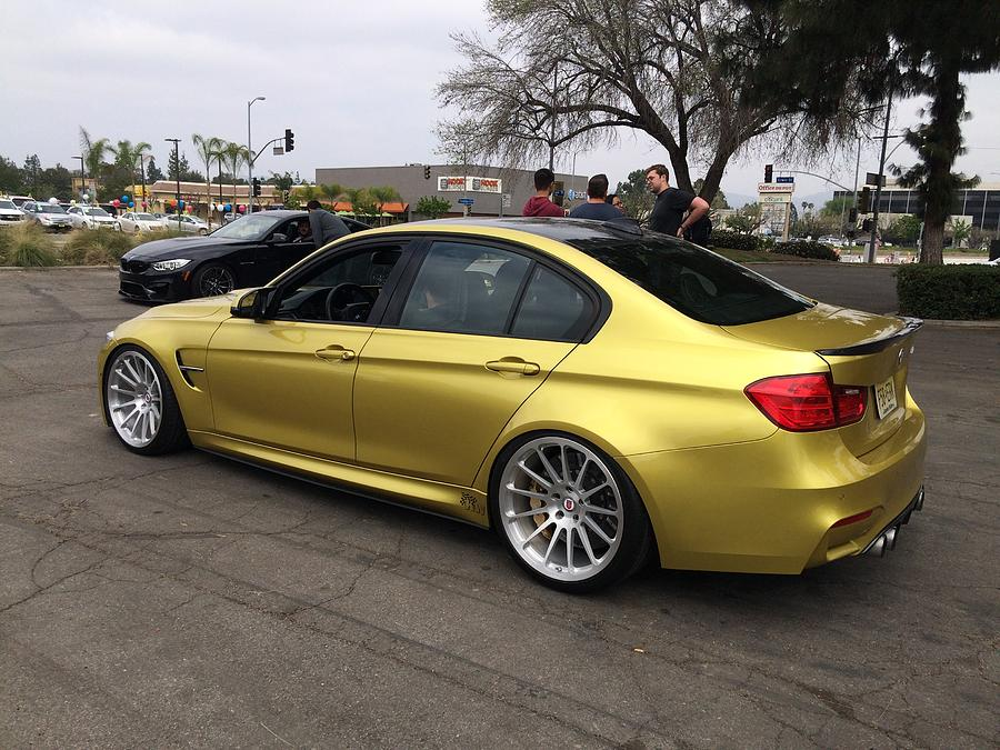 Bmw M3 Individual Color Individual Phoenix Yellow