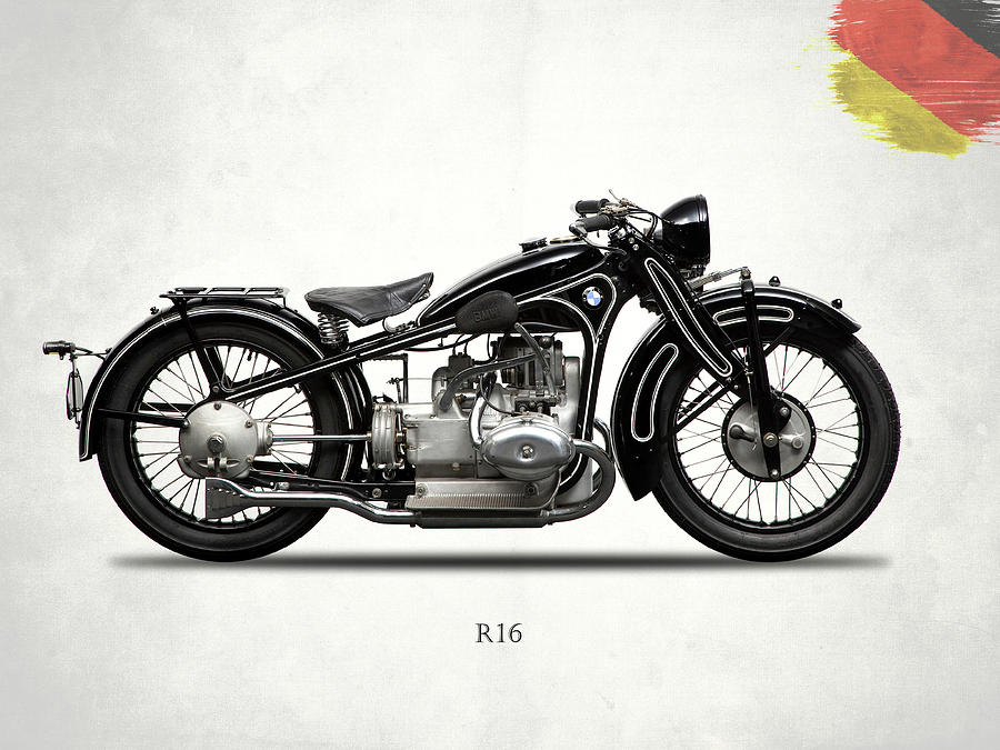 Bmw Photograph - The R16 Motorcycle by Mark Rogan