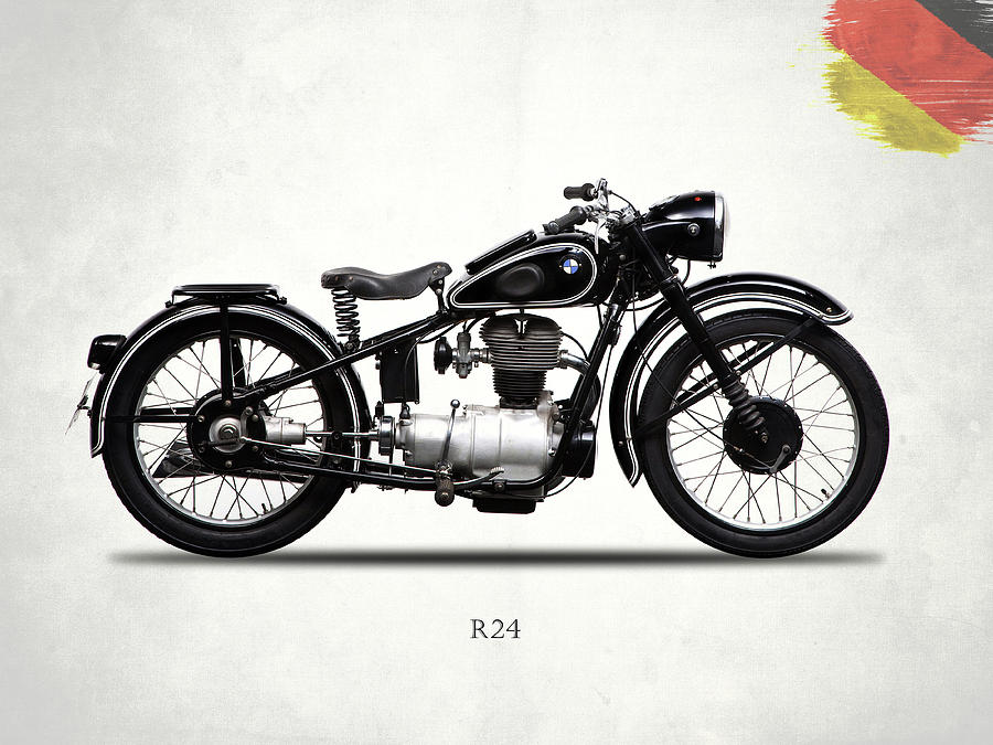 Bmw Photograph - The R24 Motorcycle by Mark Rogan