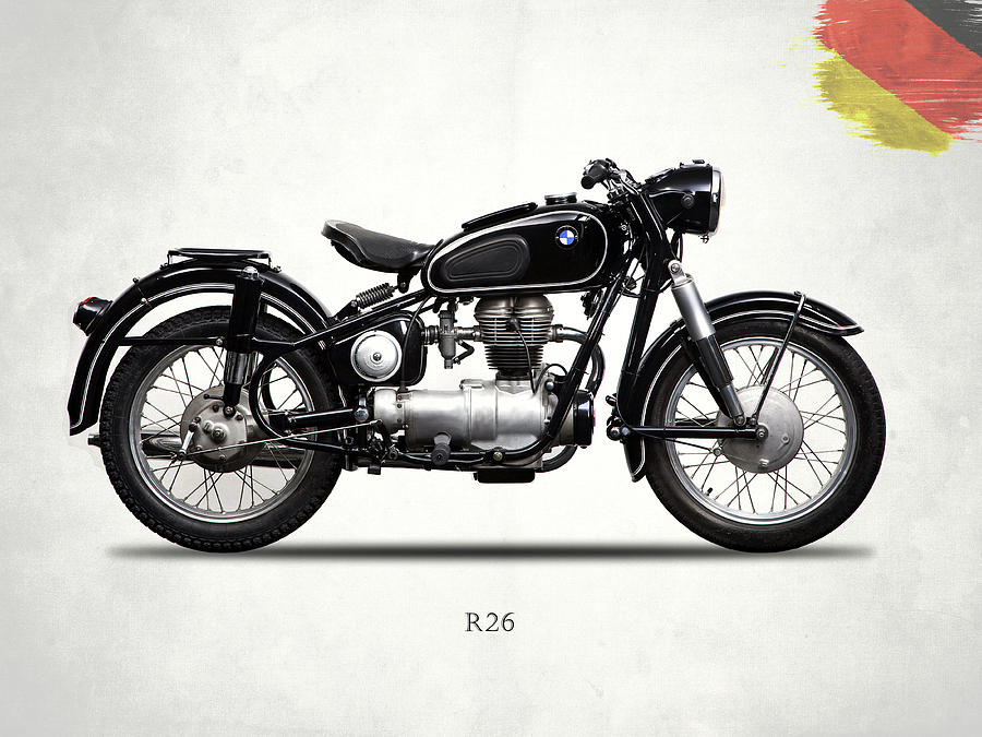 Bmw Photograph - The R26 Motorcycle by Mark Rogan