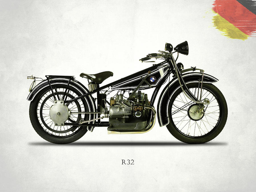 Bmw Photograph - The R32 Motorcycle by Mark Rogan