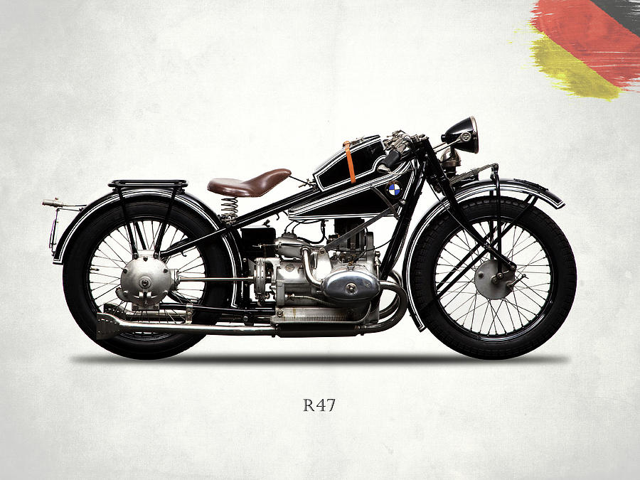 Bmw Photograph - The R47 Motorcycle by Mark Rogan