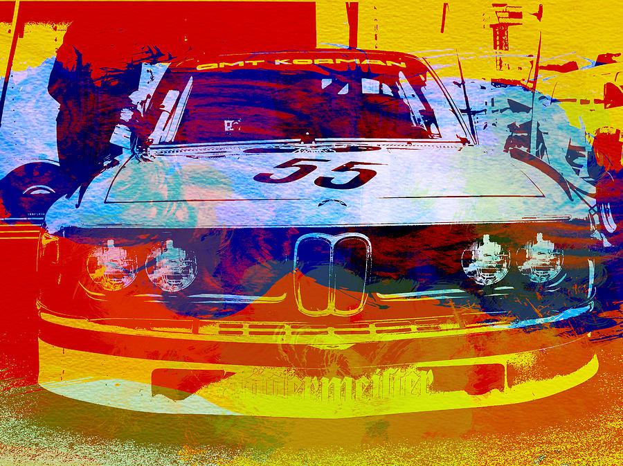 Bmw Photograph - BMW Racing by Naxart Studio
